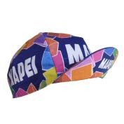 Retro cycle team cap Vintage fixie Mapei Multi coloured