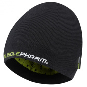 Musclepharm 474 Knitted Beanie Hat - Black, One Size