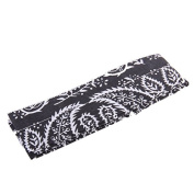 Outdoor Summer Cooling Headband Wrist Band Scarf Black
