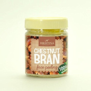 Face Scrub Chestnut Bran Face Peeling - 100% Natural - Very effective on acne prone skin. 200ml