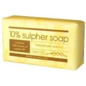 4X 200G 10% Sulphur Soap