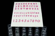 Windsor Clikstix Full Set Gothic Lettering & Numbers
