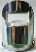 TOOGOO(R)Cork Preserver Stainless Steel Sparkling Wine Champagne Bottle Stopper Air Seal Plug Bar Silver