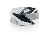 "Alessi 18/10 Stainless Steel Mirror Polished ""Kaleidos"" Basket, Silver"