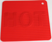 New Red Silicone Trivets HOT