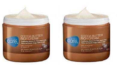 2 x Avon Cocoa Butter Rich Cream Conditioning Moisture For Face,Hand & Body 400ml