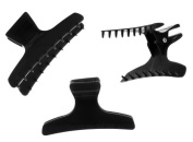 Hair Tools Butterfly Hair Clamps 12pk BLACK