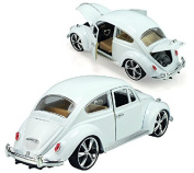 Berry President® 1:18 White Classic Car Model Beatles Alloy Car Model Children's Toy