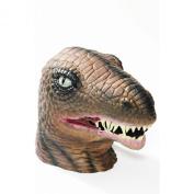 Forum Novelties Men's Dinosaur Latex Mask, Multi Coloured, One Size