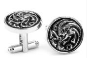 Game Of Thrones sigil dragon Cufflinks