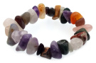 Mixed Tumbled Gemstone Bracelet