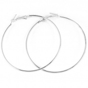High Quality Large Round Hoop Thin Earrings