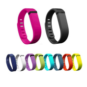 YooNeo 10PCS Large/Small Replacement Wrist Band with Clasps for Fitbit Flex