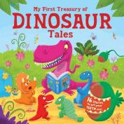 My First Treasury of Dinosaur Tales [Board book]