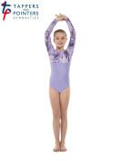 Tappers & Pointers Lycra and Foil Gymnastics Leotard GYM8