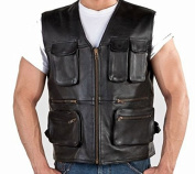 Az Hunter multi Pocket Unisex Waistcoat In Premium Quality Available in All Size's