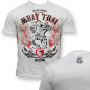Dirty Ray Martial Arts MMA Muay Thai men's short sleeve T-Shirt K9