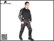 Men Military Hunting Paintball BDU Uniform Combat Gen2 Tactical Duty Cype Style Uniform MultiCam Black