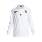 England RWC 2015 Kids Home Classic L/S Rugby Shirt