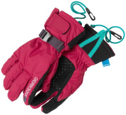 Didriksons Waterproof and Warm Five Youth Childrens Boys Girls Ski Gloves
