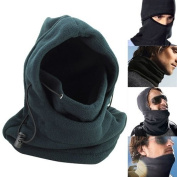 Ewin24 Pack Of 2 Double Layers Thicken Warm Fleece Thicken Balaclava Hood Full Face Cover Mask Winter Wind Proof Stopper Hat Neck Warmer For Outdoors Snowboarding Ski Motorcycle