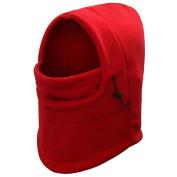 JTC Multifunction 6 in 1 Warmer Thermal Fleece Balaclava Hood Police Swat Ski Bike Wind Stopper Mask Hat Scarf