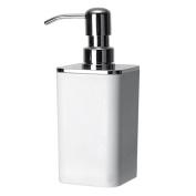 Bremermann ® Bathroom Series Soap Dispenser Plastic SQUARE White