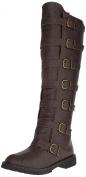 FUNTASMA GOTHAM-110 Men's 3.8cm Flat Heel Pull-On Knee High Boot