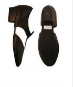407 bloch black leather greek shoes greeks us 5 uk 2 flexible
