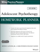 Adolescent Psychotherapy Homework Planner, Fifth Edition