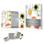 Molecule R-Evolution Cuisine Kit plus Molecular Gastronomy Book with 40 Recipes Introductory Package