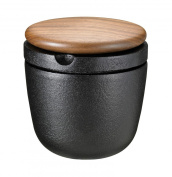 Skeppshult 0071V Herb and Pepper Mill Cast Iron with Swedish Walnut Lid