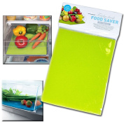 KITCHEN FRIDGE DRAWER FOOD FRESH SAVER LINER MAT FRUIT SALAD VEGGIES WASHABLE