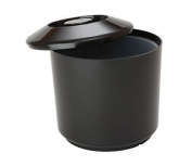 Black Plastic Round 4 Litre Ice Bucket Cooler 3502