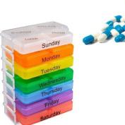 Weekly Medicine Pill Box Organiser