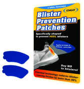 ENGO Blister Prevention Patches - Heel Pack, 2 Patches