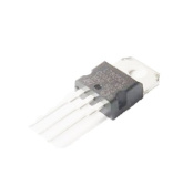 Generic L7805 7805 Voltage Regulator IC 5V 1.5A TO-220 Make In China Pack of 10 Pcs Colour Black