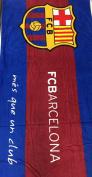 FC BARCELONA SOCCER TEAM BEACH TOWEL SIZE 80cm x 150cm