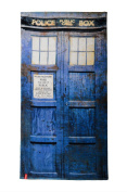 Doctor Who Tardis Distressed Beach Towel