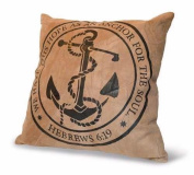 Divinity Boutique 84672 Cushion-Hope Anchor, Leather