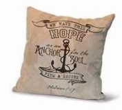 Divinity Boutique 84669 Cushion-Hebrews 6-19, Leather