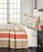 Martha Stewart Collection Strawberry Meadow King Bedspread