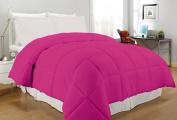 South Bay OS PK KG CFR220T Down Alternative Comforter, King, Fuchsia