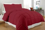 South Bay OS CR QN T220 CFR Down Alternative Comforter, Full/Queen, Crimson