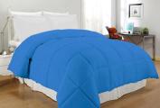 South Bay OS CB TN CFR220T Down Alternative Comforter, Twin, Cobalt Blue