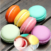 New Hot Fashion Cute Sweet Macarons Storage Box Candy Colour for Jewellery Earring Outing Boxes Living Essential