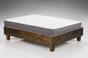 Spring Dreams 23cm Two-Sided Pocket Coil Mattress Made in USA, Twin