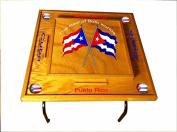 Puerto Rico & Cuba Domino Table