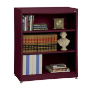 The Burgundy Elite Radius Edgestationery110cm Bookcase