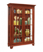Philip Reinisch Colour Time Monterey Two-Door Display Cabinet, Chilli Pepper Red
